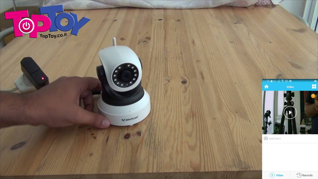 מסודר התקנה של מצלמת אבטחה אלחוטית / מוניטור לתינוק VStarcam - YouTube NK-94