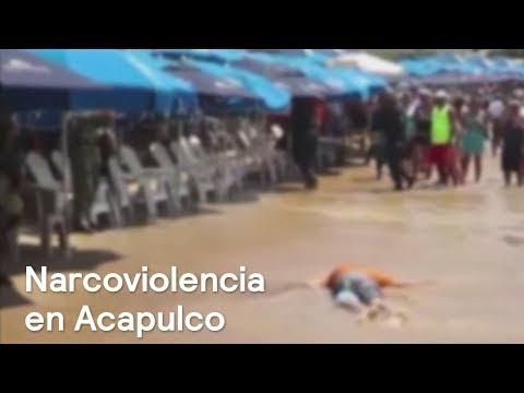 Asesinan a hombre en playa de Acapulco frente a turistas - En Punto con Denise Maerker