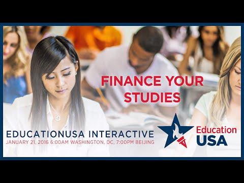 EducationUSA: Finance Your Studies