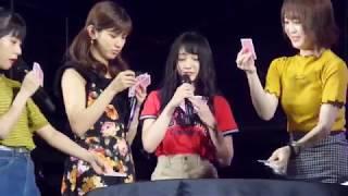 2018年7月8日 ジャーバージャ大握手会 スペシャルステージ祭り NMB48チ...