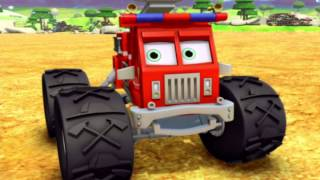 "Bigfoot Presents: Meteor and the Mighty Monster Trucks - Episode 03 - ""Bath Time for Junkboy"""