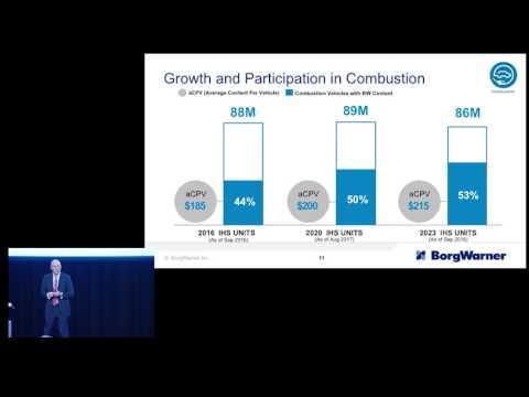 BorgWarner 2017 Investor Day Presentation