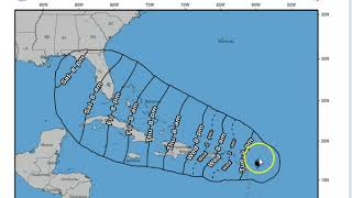 IRMA UPDATE Evening Edition Sept 5 2017  Irma is as wide as NC