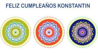 Konstantin   Indian Designs - Happy Birthday