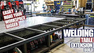 Welding Table Extension | JIMBO'S GARAGE