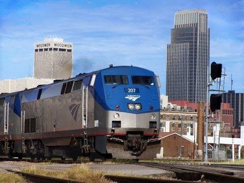 Amtrak Makes it way through Omaha, NE