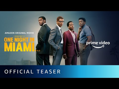 One Night In Miami - Official Teaser | Kingsley Ben-Adir, Eli Goree, Aldis Hodge |Amazon Prime Video