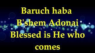 Watch Paul Wilbur Baruch Haba blessed Is He Who Comes video