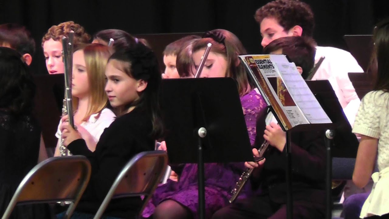 5th Grade Band Winter Concert LMTSD Pine Road Elementary - YouTube