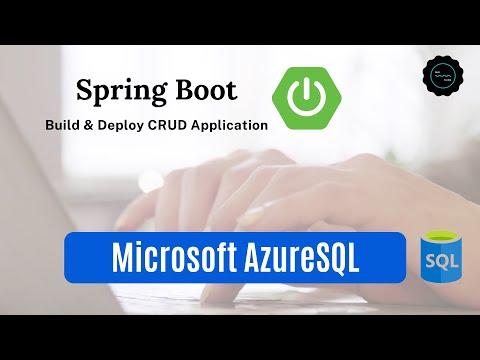 Deploy Spring Boot CRUD Application to Azure | AzureSQL Database | Spring Data JPA | Java Techie