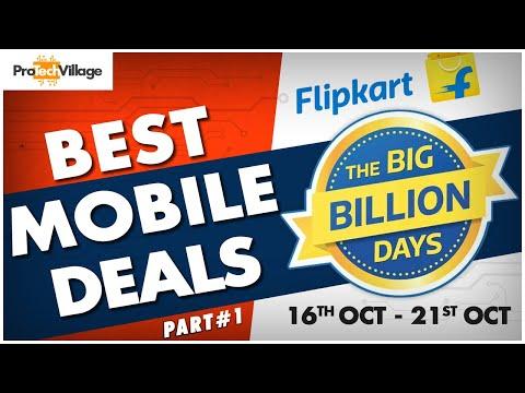 20 BEST SMARTPHONE DEALS IN FLIPKART BIG BILLION DAYS SALE 🔥🔥 | PART ONE | Flipkart Big Billion Days