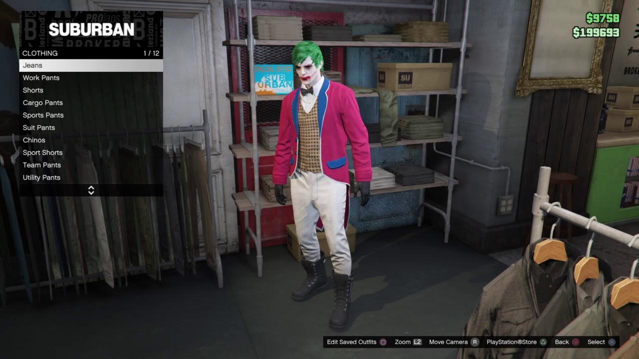Grand Theft Auto 5 Online Gotham Season 3 Jerome Valeska
