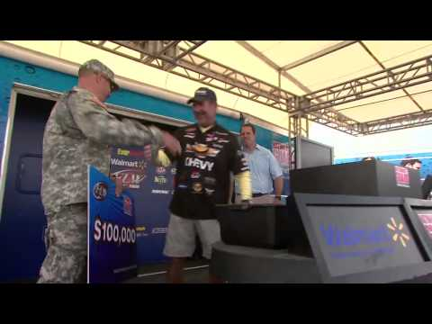 Nixon Winning Moment at FLW Tour Open Detroit River