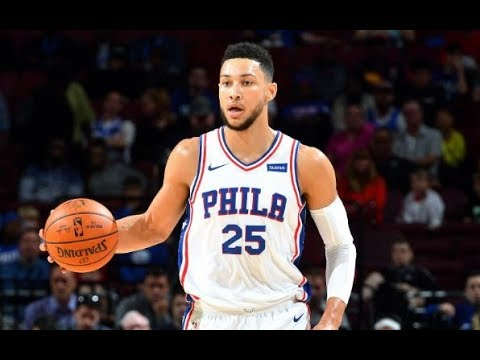 Ben Simmons Dishes 9 Assists In Rookie Debut | October 4th, 2017
