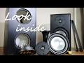 Magnat Quantum 503 speakers look inside - what's inside ?