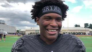 Harrisburg's Donte Kent, sort of, challenges his brother, talks about win over CD East thumbnail