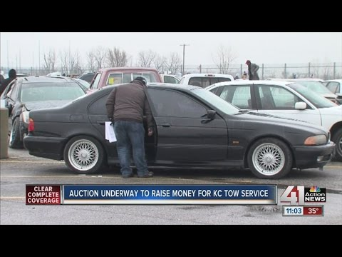 Auction underway to raise money for KC tow service