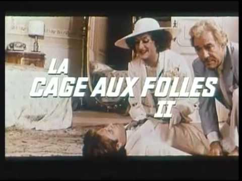 La cage aux folles 2 ( 1980 - bande annonce )