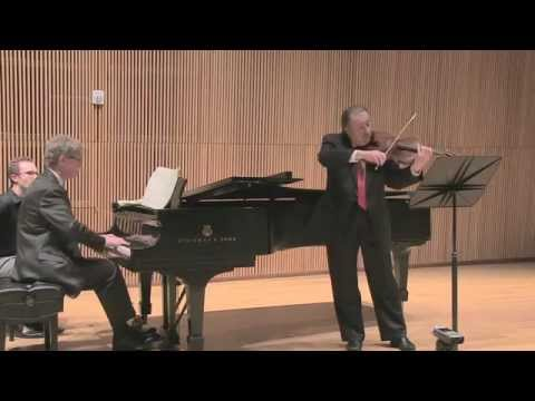 Brahms Viola Sonata in F Minor - Csaba Erdélyi, viola & Ian Hobson, piano