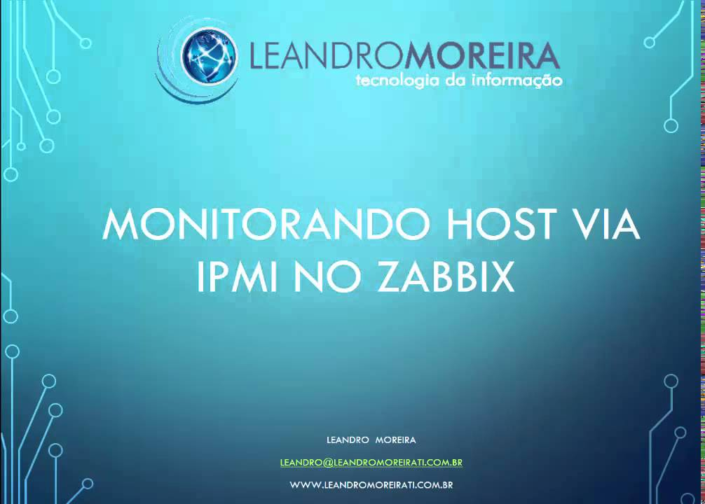 Monitorando host via IPMI no zabbix