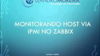 Monitorando host via IPMI no zabbix