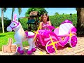 Nastya and her toys - a collection of new episodes for children from Nastya Artem Mia