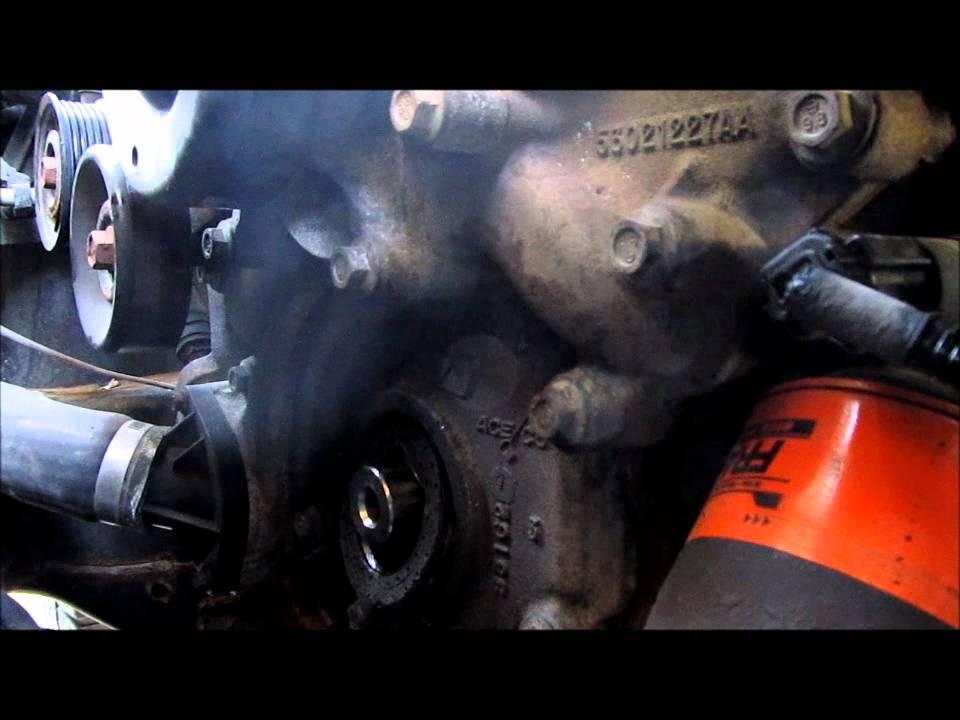 Dodge Dakota 2012 >> Dakota front seal replacement - YouTube