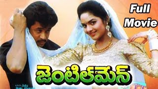 Gentleman Full Length Telugu Movie || Arjun, Madhubala, Subhashri