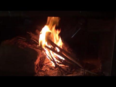 Quick Way To Clean Fireplace Glass Door Youtube