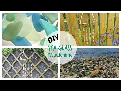 DIY Sea Glass Windchime