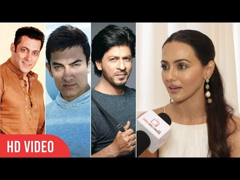 Khans Are the Legends Of Bollywood | Sana khan About 3 Khans