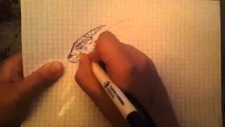 как научиться рисовать дракона за 2 минуты