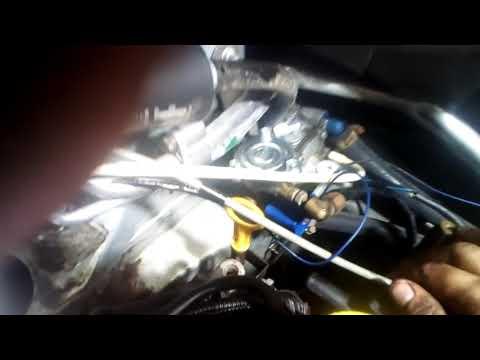 Снять двигатель Логан через верх
