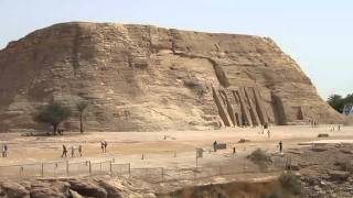Egypte 2011 Aboe Simbel en de Aswan dam