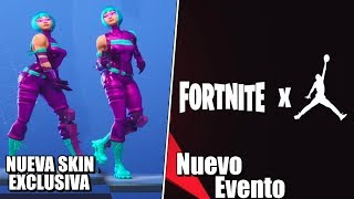 The New Skins Most EXCLUSIVE And New Fortnite X Jordan Event!