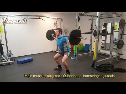 Barbell Back Squat