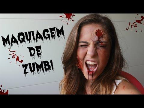 TUTORIAL: Maquiagem FÁCIL de zumbi pro Halloween