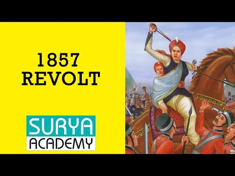 TNPSC Group 1 Modern India | 1857 Revolt