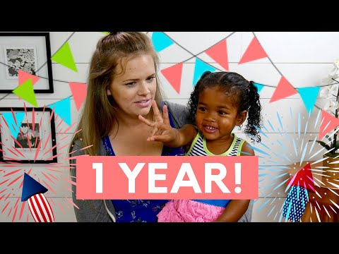 1 Year In The USA | Adoption Update!!