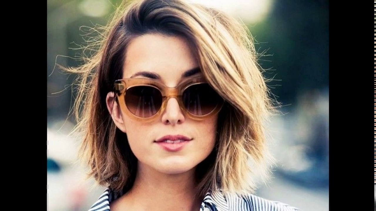 Short To Medium Layered Haircuts For Thick Hair Youtube
