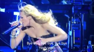 Carrie Underwood - Two Black Cadillacs with Lyrics