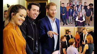 Prince William and Harry welcome Rita Ora at Kensington Palace