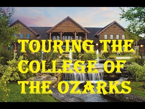 Touring College of the Ozarks Campus