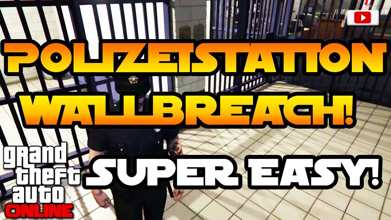 Gta 5 Karte Polizeistation.Grand Theft Auto 5 Online Polizeistation Wallbreach Solo Super Easy Fun Glitch