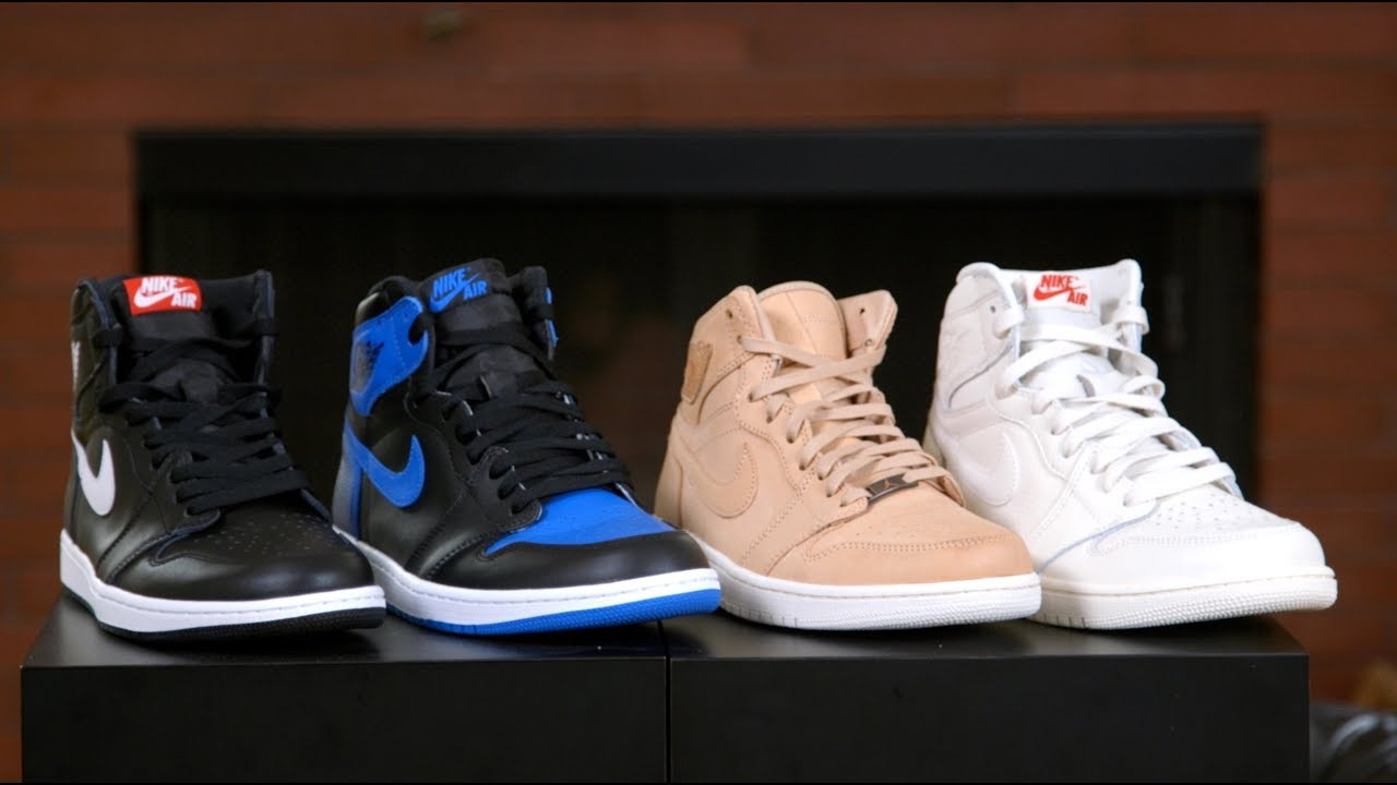 new style 2b4a8 d8b47 Air Jordan 1 Leather Quality Comparison