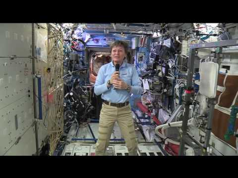 Space Station Crew Member Discusses Life in Space and Role Model Responsibilities