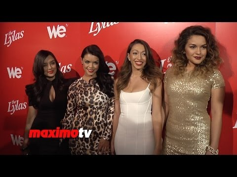 "Meet ""The Lylas"", Bruno Mars's Sisters, WE Tv New Series Premiere Party Red Carpet"