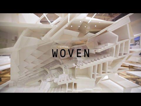 KENGO KUMA / WOVEN – exhibition in Prague