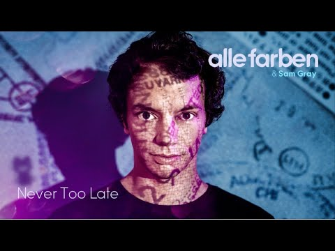 Alle Farben & Sam Gray - Never Too Late (Official Audio)