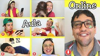 TIPOS DE ALUNOS NO PRIMEIRO DIA DE AULA ONLINE - Escola engraçada !!